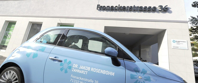 Ihr Kontakt zu Dr. Rosenbohm, Zahnarzt in Waiblingen